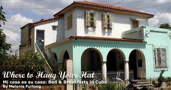 mi casa es su casa bed breakfasts in cuba. Black Bedroom Furniture Sets. Home Design Ideas