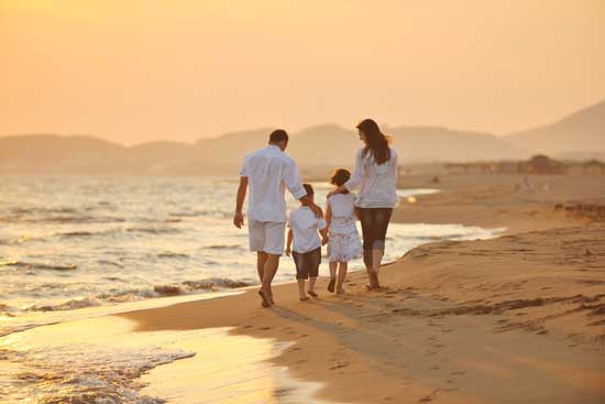 Family vacation study reveals how travelers like to for Health spa vacations for couples